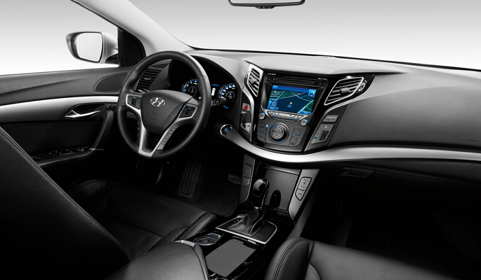 Hyundai i40 interieur