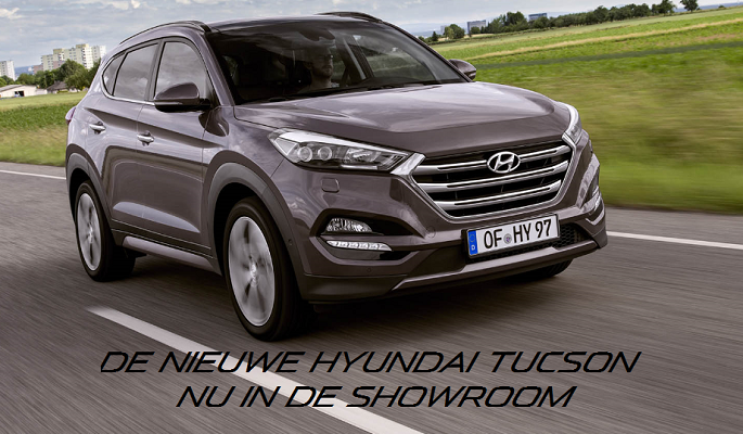 Tucson nu in de showroom 1